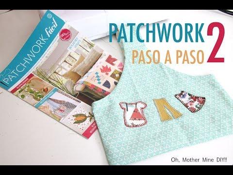 Aprende la tecnica del Patchwork paso a paso 2