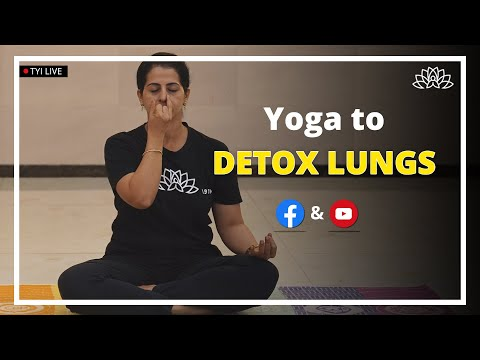Yoga to Detox Lungs | The Yoga Institute