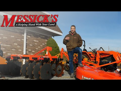 Cool equipment! Walk the Messick's lot with Neil Picture