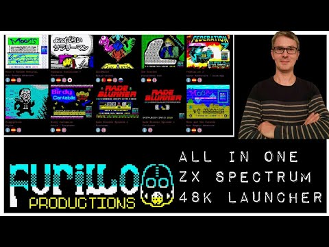 Furillo Productions All In One ZX Spectrum 48k Launcher