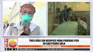Tres días sin hisopos para pruebas PCR en San Pedro Sula