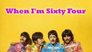 When I M Sixty Four The Beatles Cover Youtube