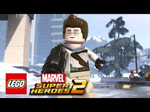 connectYoutube - LEGO Marvel Super Heroes 2 - How To Make Egon Spengler (Ghostbusters)