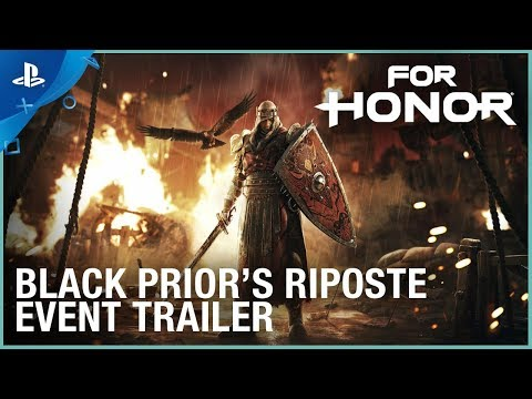 For Honor - Black Prior's Riposte Event  Trailer   PS4