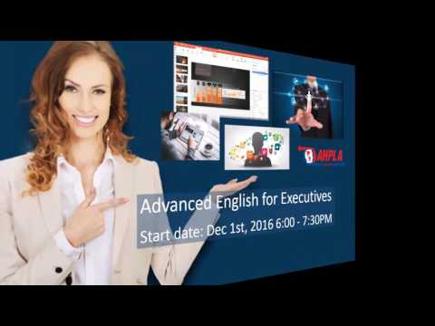 Advanced English for Executives - Online Workshop