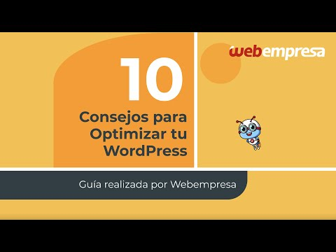 Guía de optimización WordPress [10 consejos fáciles para mejorar la velocidad de tu web] 🚀
