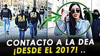 ¡BOMBAZO! Emma Coronel tenía contacto con la DEA desde el año 2017.