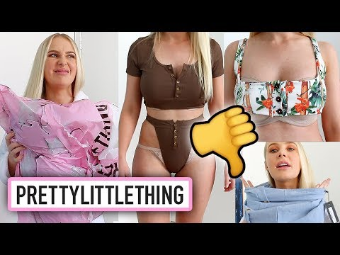 BIG FAIL: PRETTYLITTLETHING CLOTHING HAUL | Lauren Curtis