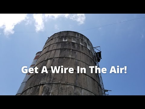 How to Make the Easiest Ham Radio Antenna Ever! The Doublet
