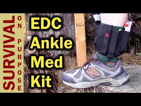 WPS Ankle EDC Medical Kit Review- This Could Save A Life