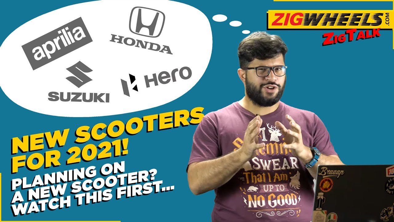 New Scooters For 2021   Suzuki Burgman Street Electric, TVS Jupiter 125, Honda Forza 350 & More