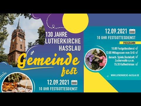 Kirchweihgottesdienst und Gemeindefest ab 10:00 Uhr am 12.09.2021
