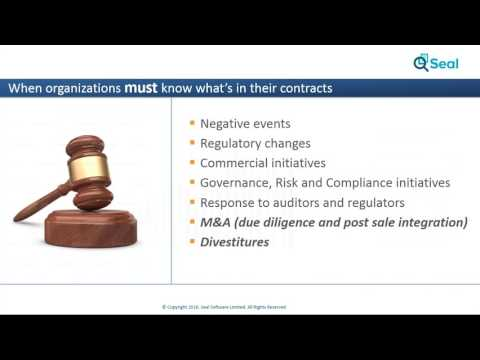 Mitigating M&A Contract Risk