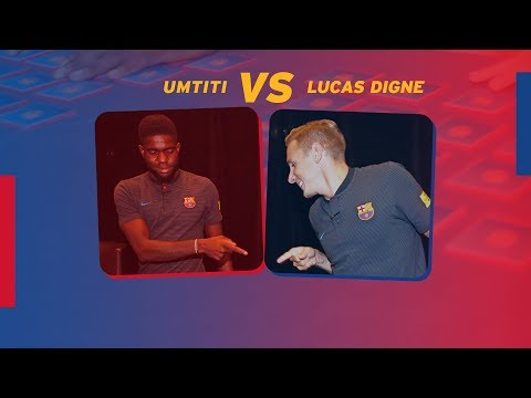 BARÇA MEMORY | Samuel Umtiti vs Lucas Digne