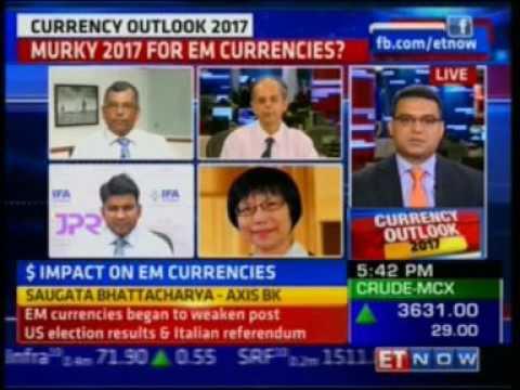 ET Now Currency Outlook 2017  Abhishek Goenka   Founder & CEO, I