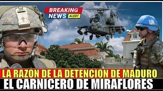 Por esta RAZON Maduro DETENIDO por la Corte Penal