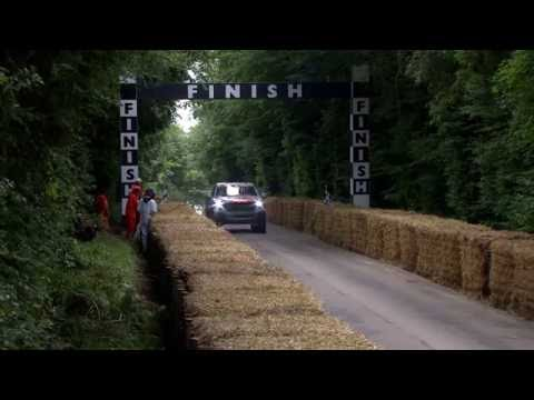 Ben Collins drives the Raptor at Goodwood Festival of Speed 2016