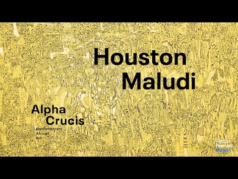 "Interview with Houston Maludi | ""Alpha Crucis – Contemporary African Art"""