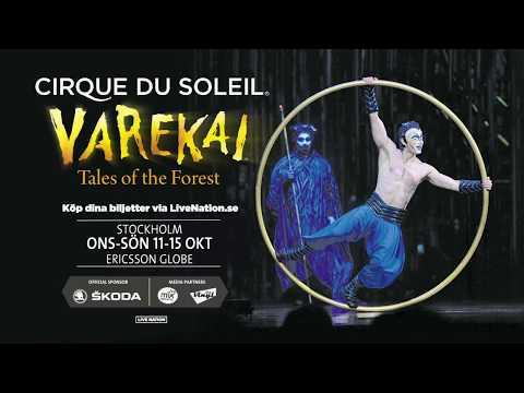 Cirque du Soleil - Varekai - Stockholm