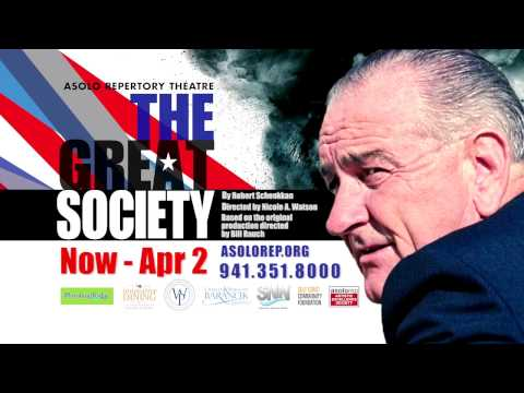 "Asolo Rep - NOW PLAYING - ""The Great Society"""