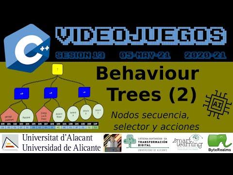 C++ : IA con Behaviour Trees (2) #AI #Videojuegos2 #UA [ S13.2021 ]