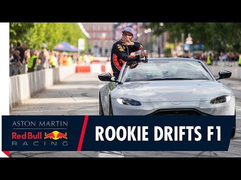 Rookie drifts F1 in Copenhagen
