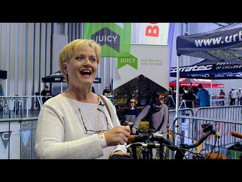 Juicy Bike   Ride Reactions   reviews from The Cycle Show 2019