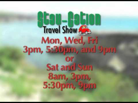 Stay-Cation Travel Show air times, 15 sec promo