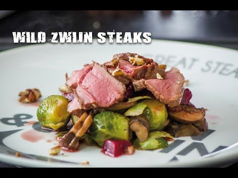 Wild zwijn steaks | Fire&Food TV