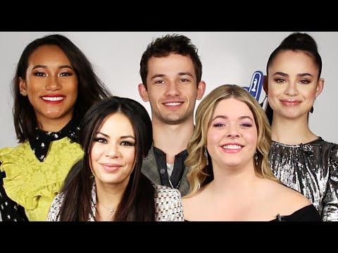 "The Cast Of ""PLL: The Perfectionists"" Play ""Who's Who"""