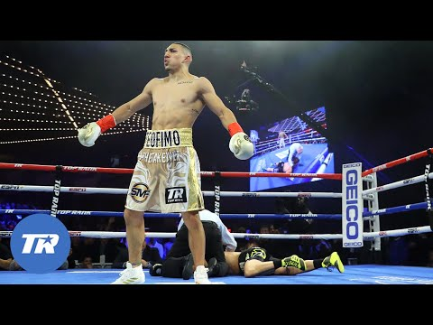 Teofimo Lopez vs Mason Menard   FREE FIGHT   HAPPY BIRTHDAY TEOFIMO LOPEZ