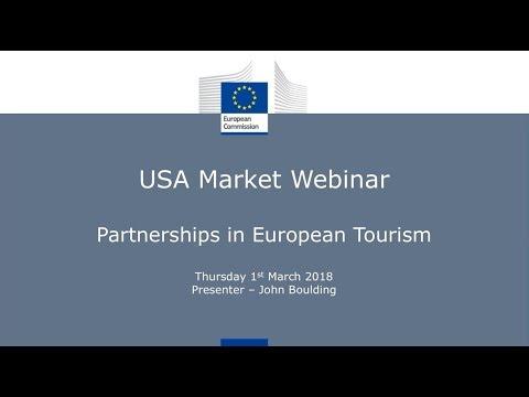 Partnerships in European Tourism - USA Market Webinar