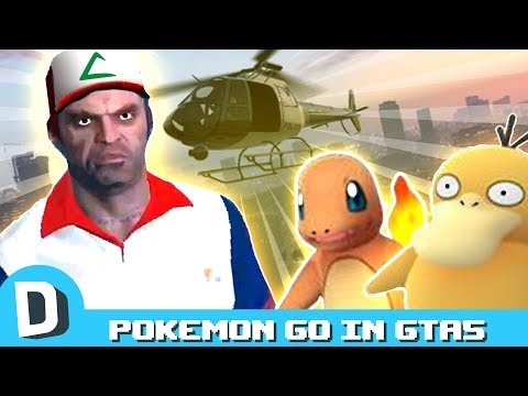 Catching Pokemon in GTA5