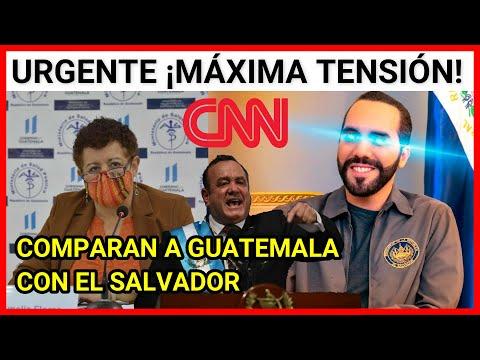 ¡MAXIMA TENSION! ENTRE MICHELLE MENDOZA DE CNN Y LA MINISTRA DE SALUD AL COMPARAR A GUATEMALA CON