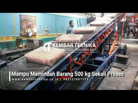 Mesin Conveyor Jenis Potable