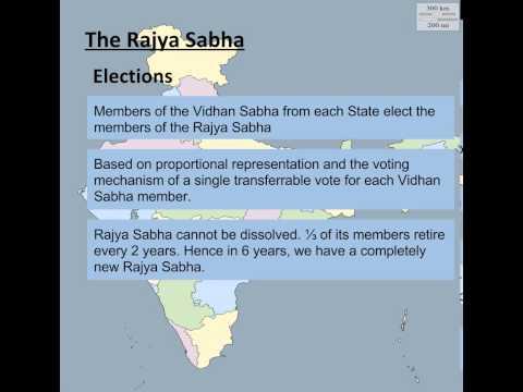 Gov India Explained - 3d. The Rajya Sabha