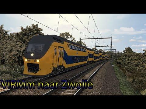 VIRMm naar Zwolle - Train Simulator 2019