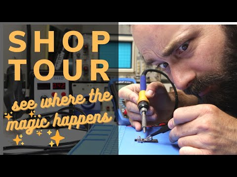 Shop Tour - My electronics workshop