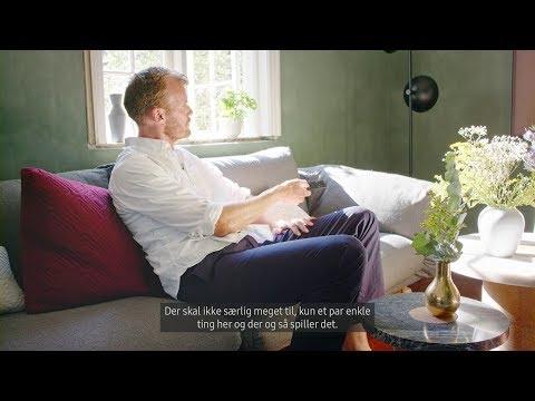 Episode 2: Indret din stue med et QLED TV