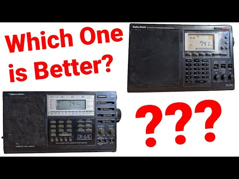 ► Radio Shack Shortwave Showdown: DX-440 VS DX-390...Which Radio Wins???