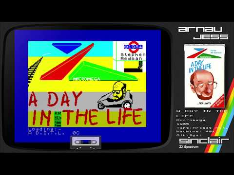 A DAY in the LIFE Zx Spectrum by Micromega
