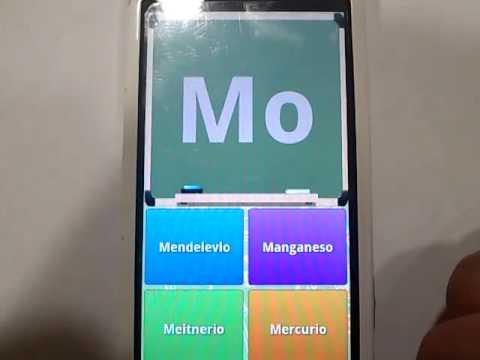 Tabla periodica quiz 106 descargar apk para android aptoide video de tabla periodica quiz urtaz Images