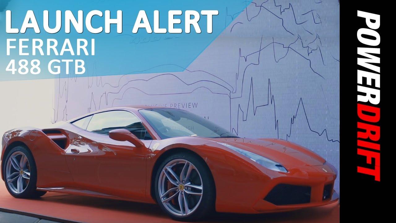 Ferrari 488 GTB : Launch Alert : PowerDrift