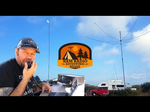 POTA Trip to the Outer Banks - Ham Radio Parks On The Air with WE4DX