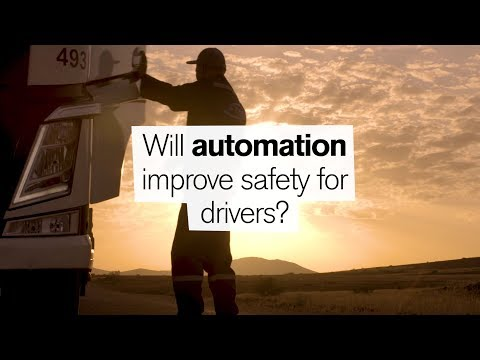 """Volvo Trucks - Automation ? Will automation improve safety for drivers"""""""