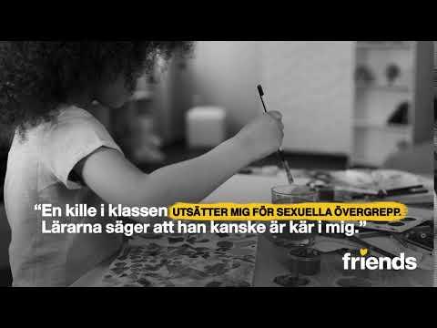 Friends Julkampanj 2017 - Sexuella övergrepp