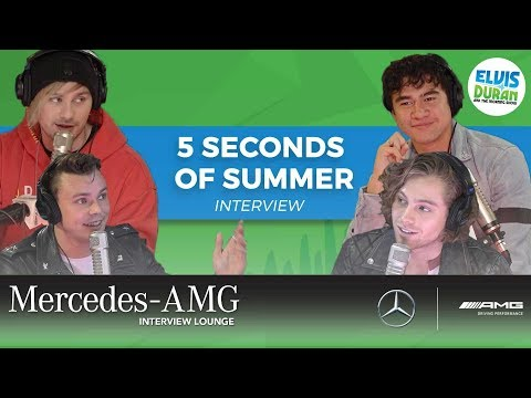 connectYoutube - 5 Seconds of Summer on New Music, Puppies, and Secret Talents   Elvis Duran Show