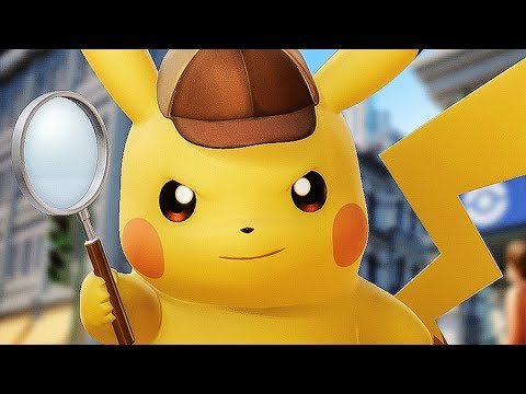 connectYoutube - DETECTIVE PIKACHU New Trailer (2018)