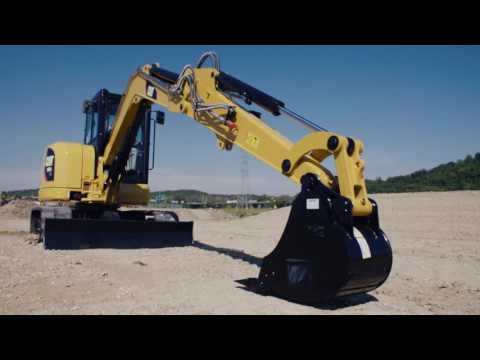 How to Properly Park Cat Mini Excavator - Foley Equipment Tech Tips
