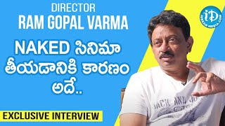 Director Ram Gopal Varma Exclusive Interview | RGV Interview | Talking Movies With iDream - IDREAMMOVIES